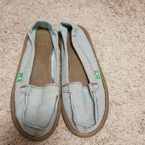 Women's Sanuk Slip-on Shoes Size 6